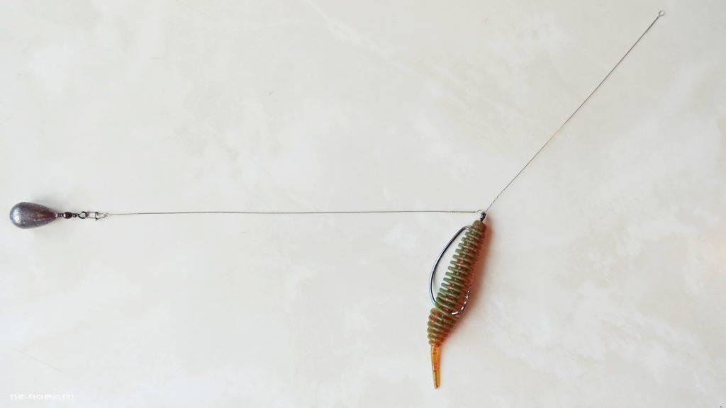 Дроп шот— уловистая оснастка наокуня для ловли втруднодоступных местах