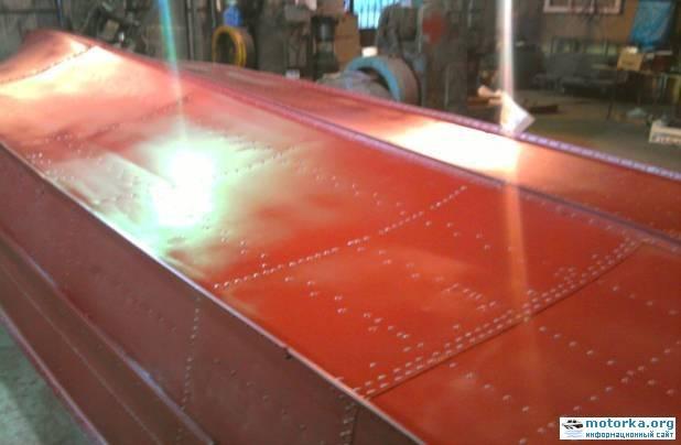 Тюнинг лодки «прогресс» — каютная мотолодка на базе моторной лодки «прогресс-2» — усовершенствование серийной лодки