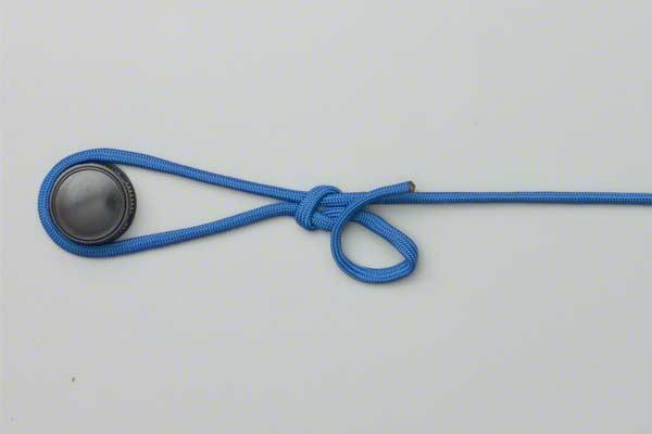 Самозатягивающийся узел ? как вязать, пошаговая схема