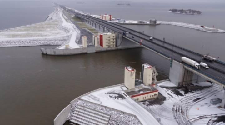 Защитная дамба санкт-петербурга