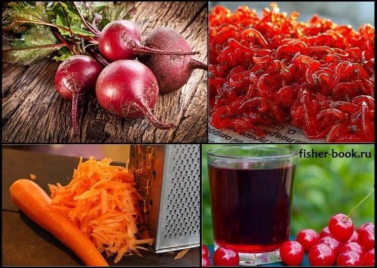 Как покрасить опарыша в красный (и любой другой) цвет и ароматизировать в домашних условиях