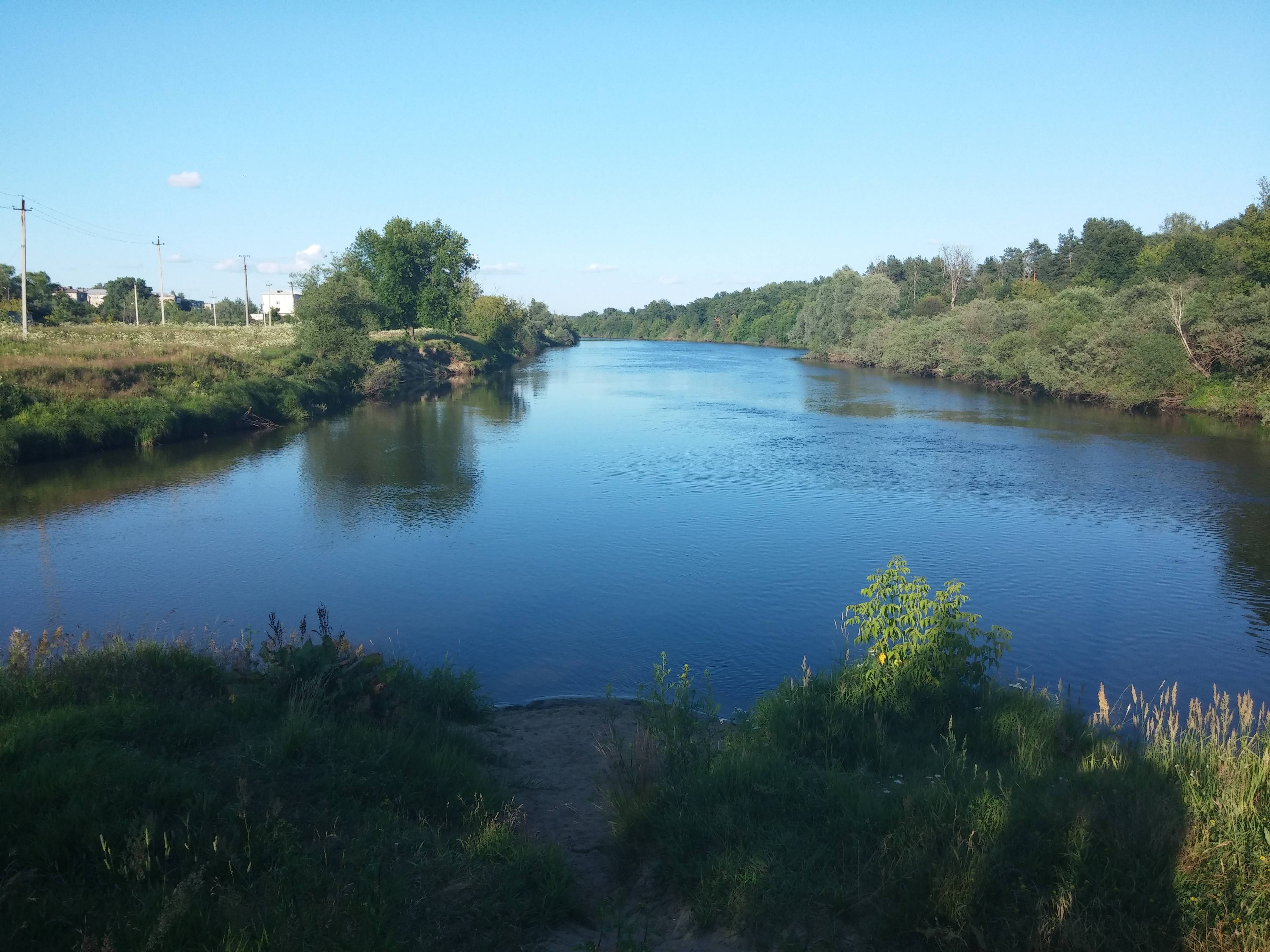 Река клязьма, устье реки киржач (пос. войново-гора)