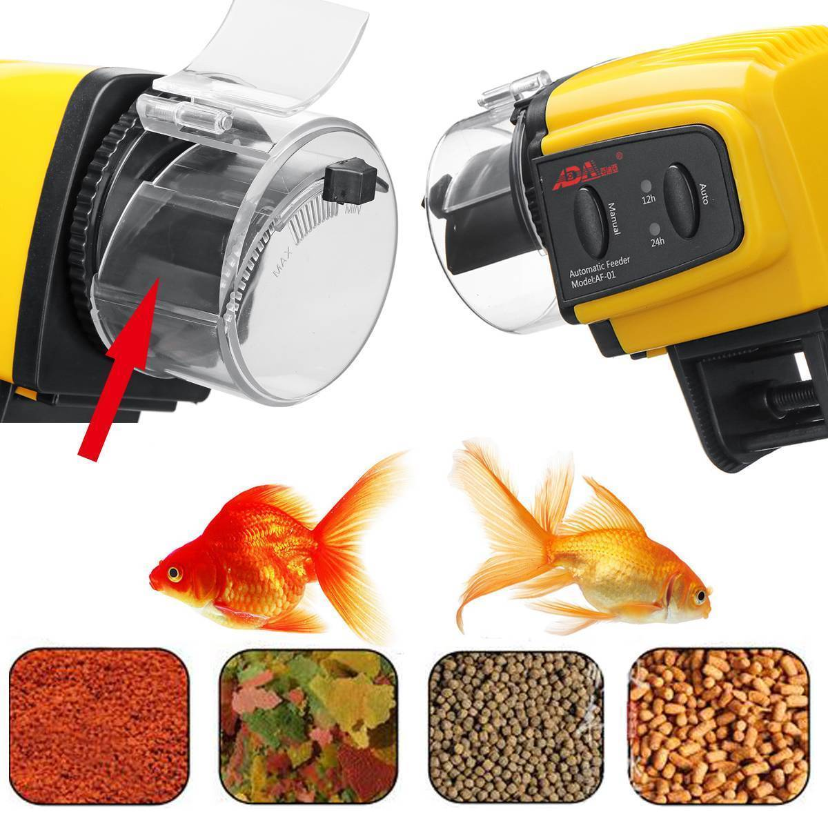 Автокормушка для рыб своими руками или как ее выбрать