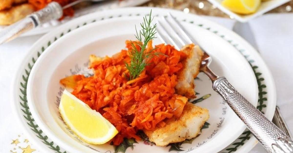 Моя рыба под маринадом – кулинарный рецепт