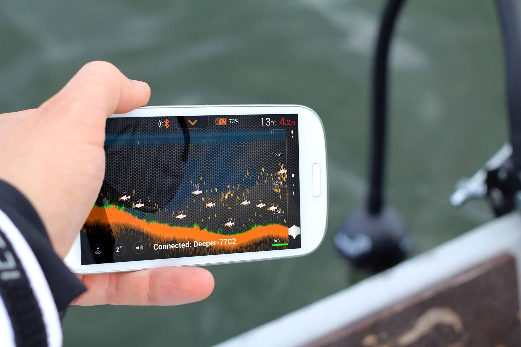 Deeper pro plus c wi-fi - беспроводной эхолот для зимней рыбалки | отзыв владельца