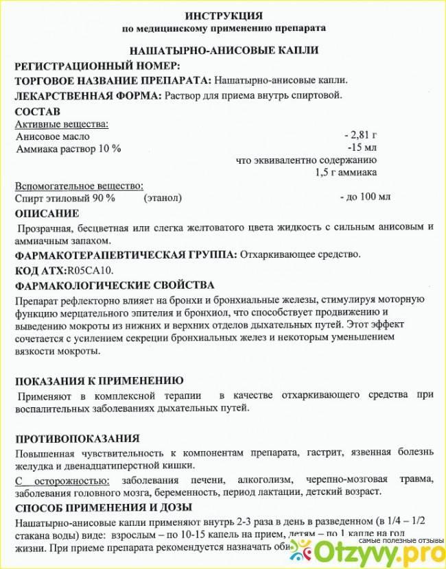 Нашатырно-анисовые капли для рыбалки: рецепты