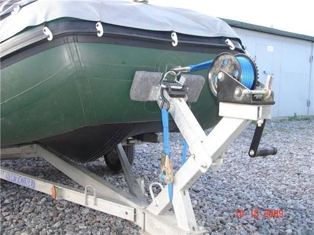 Как привязать якорь к лодке пвх