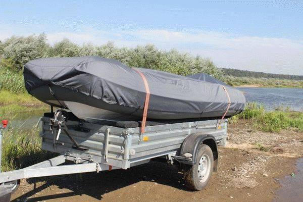 Прицеп для перевозки лодки пвх - как выбрать легковой прицеп для лодки с мотором