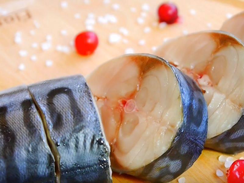 Скумбрия пряного посола - 10 рецептов приготовления пошагово - 1000.menu