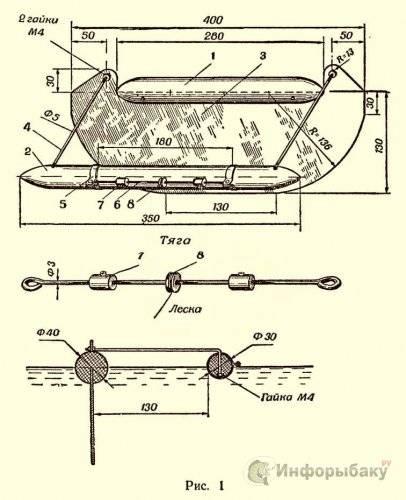 Кораблик для рыбалки своими руками (для завоза прикормки): чертежи, как сделать