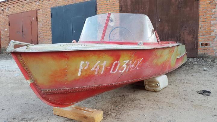 Моторные лодки вельбот