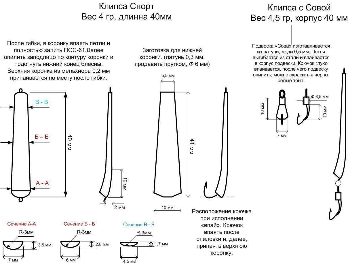 Рыболовная блесна ульянка: изготовление колебалки и вертушки из ложки своими руками