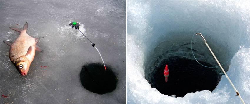 Рыбалка на плотву и подлещика в феврале