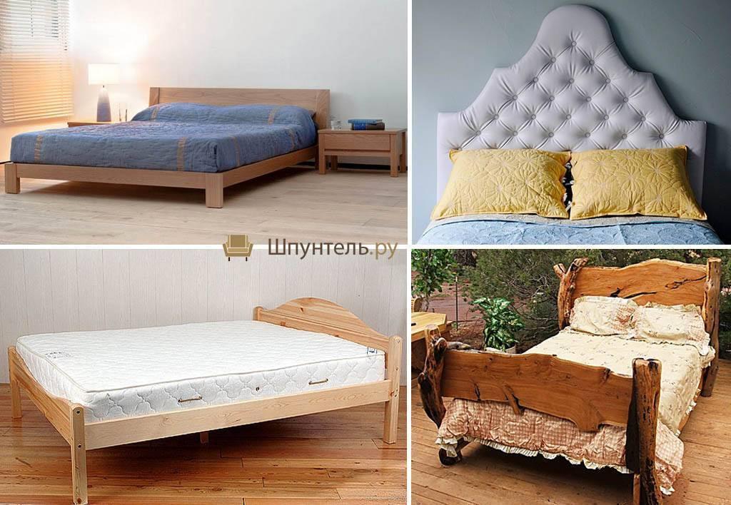 Как сделать кровать из дерева своими руками, пошаговые инструкции