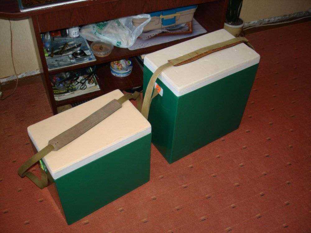 Ящик для зимней рыбалки. рыбацкие органайзеры-самоделки