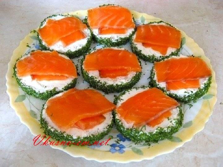 Бутерброды с красной рыбой на праздничный стол: простые и вкусные рецепты с оформлением