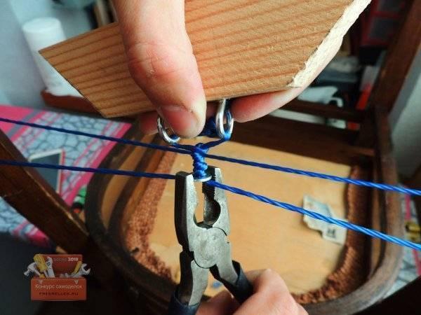 Как правильно привязать леску к катушке: как сделать самозатягивающуюся петлю, крепление и нюансы намотки