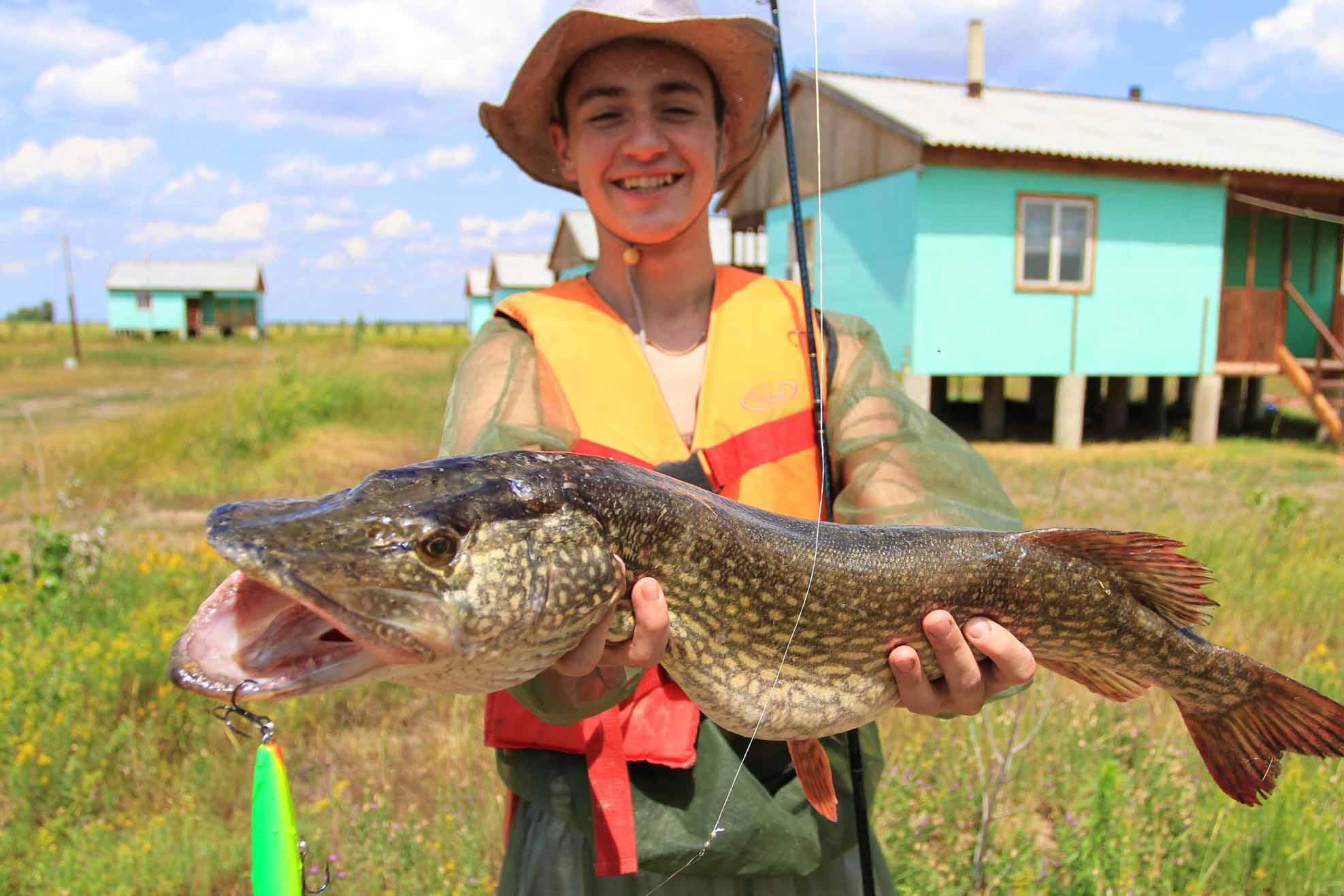 Астраханская рыбалка