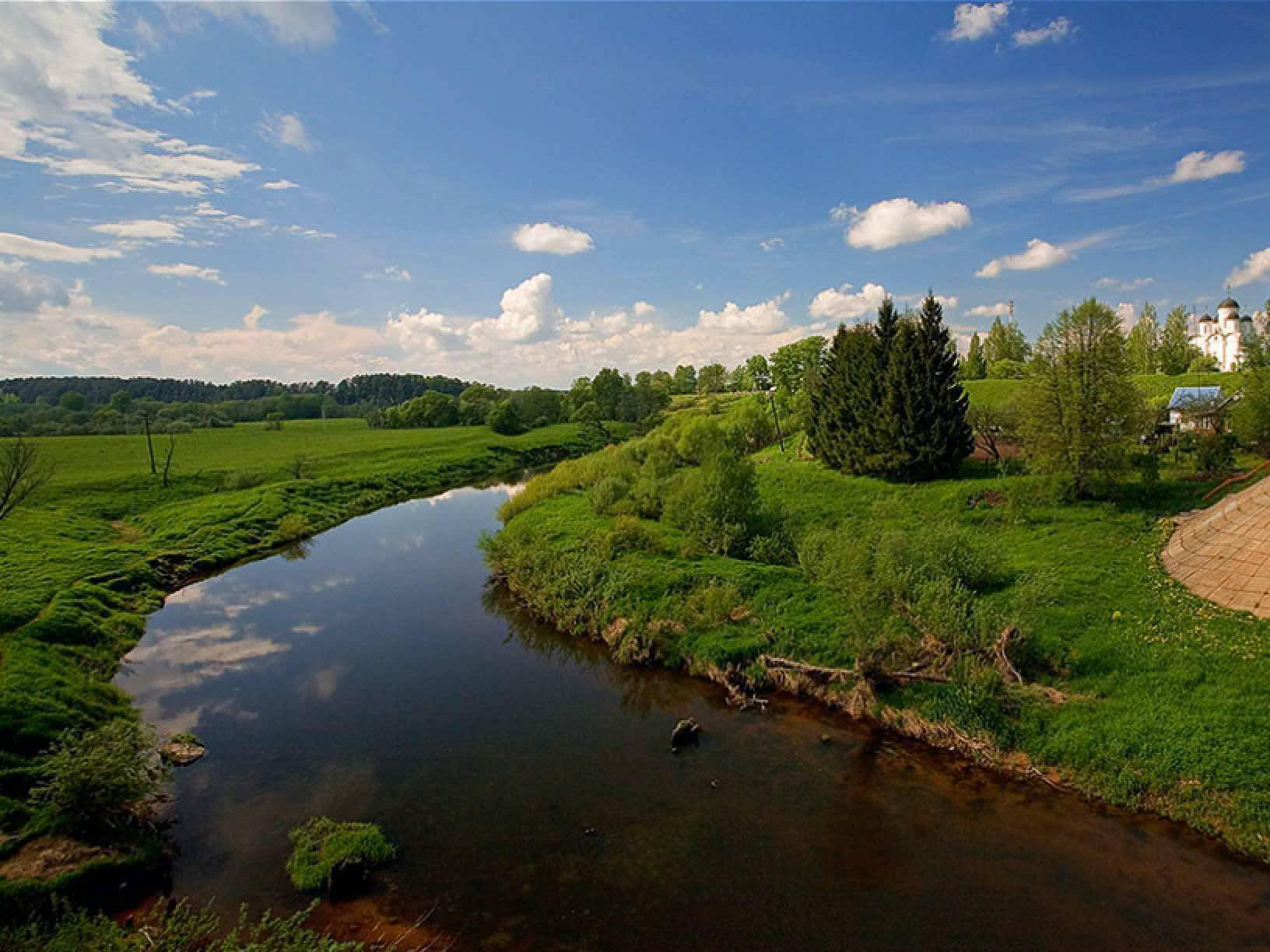 Тверская область, река медведица на карте: описание, рыбалка, сплав, отдых