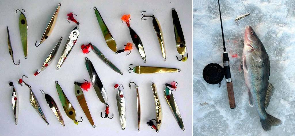 Блесны на окуня для зимней рыбалки