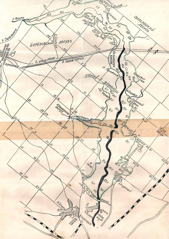 Карта рыбных мест озернинского водохранилища