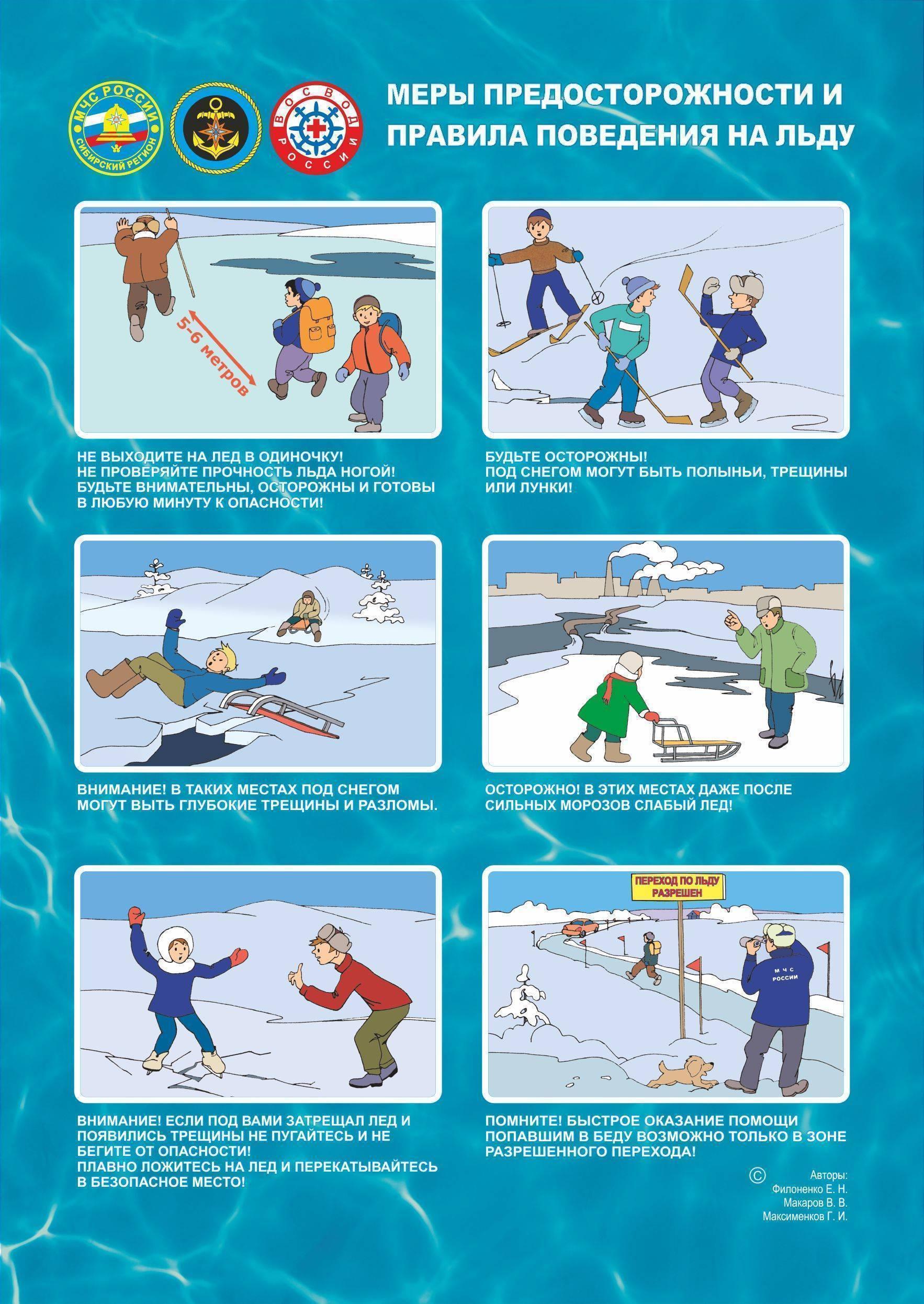 Конспект по безопасности «будь осторожен на льду». воспитателям детских садов, школьным учителям и педагогам - маам.ру