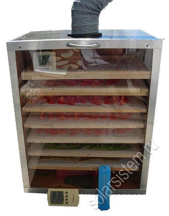 Простейший способ сделать сушилку для фруктов и овощей из ящиков и тепловентилятора
