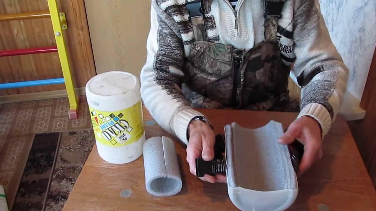 Как сделать наколенники в домашних условиях. как сделать своими руками наколенники для огорода   зелёный сад