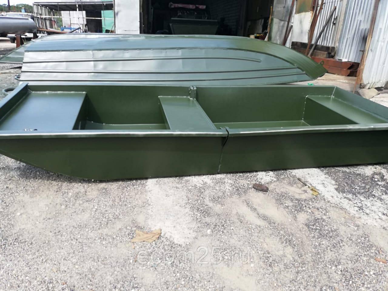 Пластиковые лодки под мотор 5 л.с и 10 л.с. - обзор моделей и цены