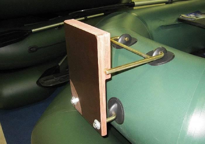 Как приклеить фурнитуру к лодке пвх