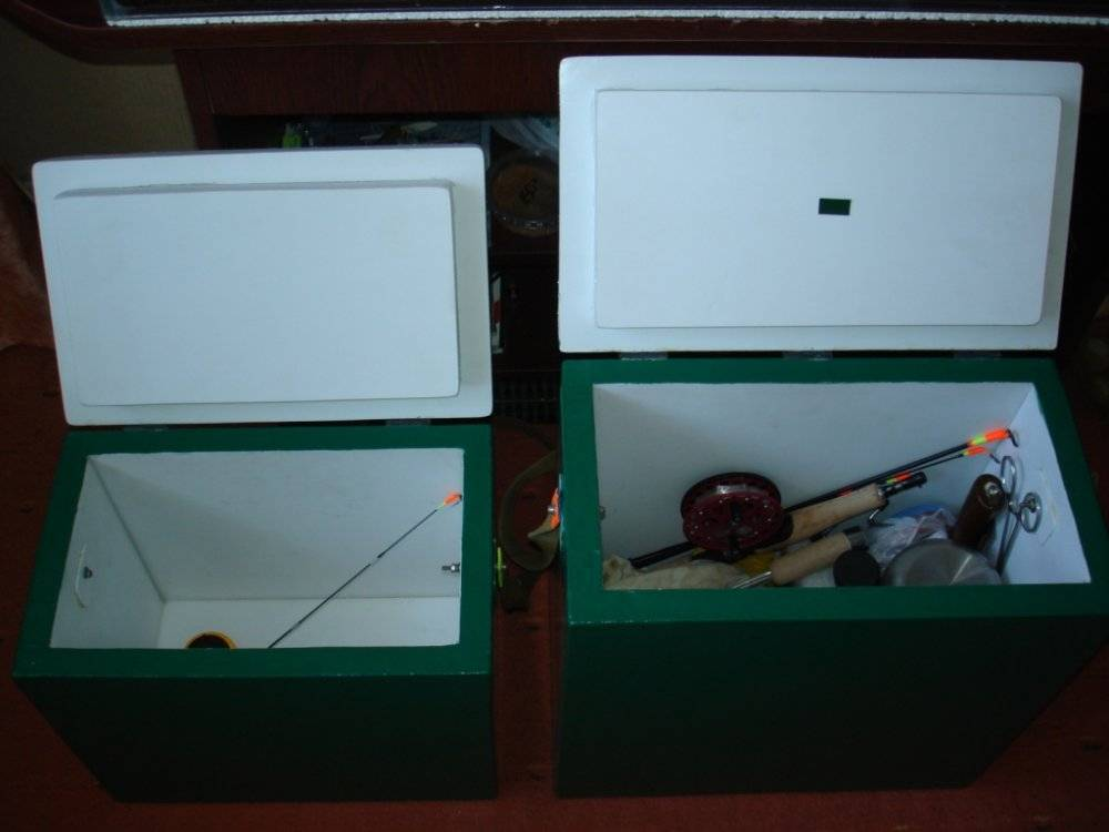 Ящик для зимней рыбалки своими руками - читайте на сatcher.fish