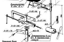 Принципы сбора самодельного ручного лодочного мотора из шуроповерта и бензопилы