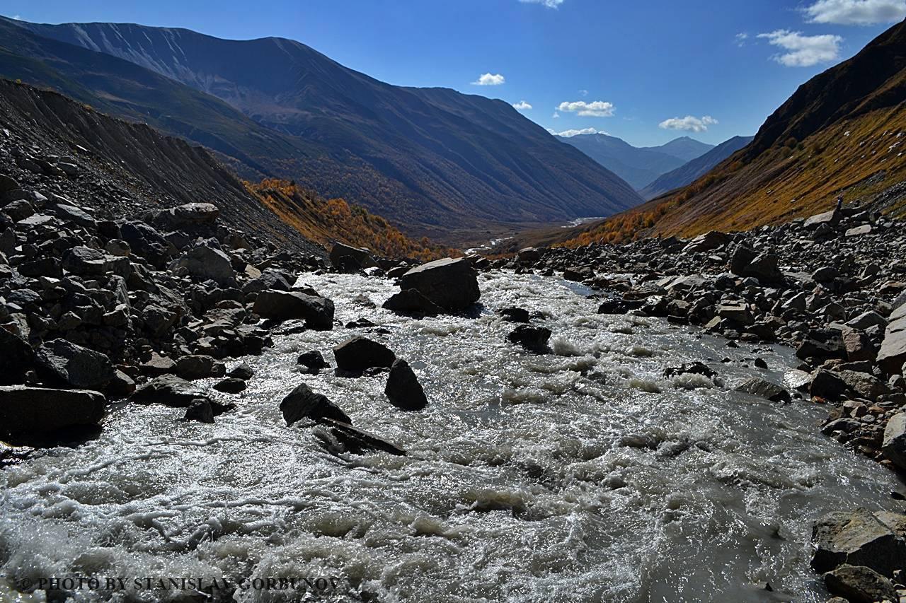 Реки в грузии