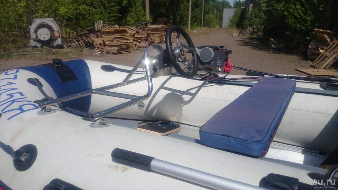 Дистанционное управление лодочным мотором - установка, комплект