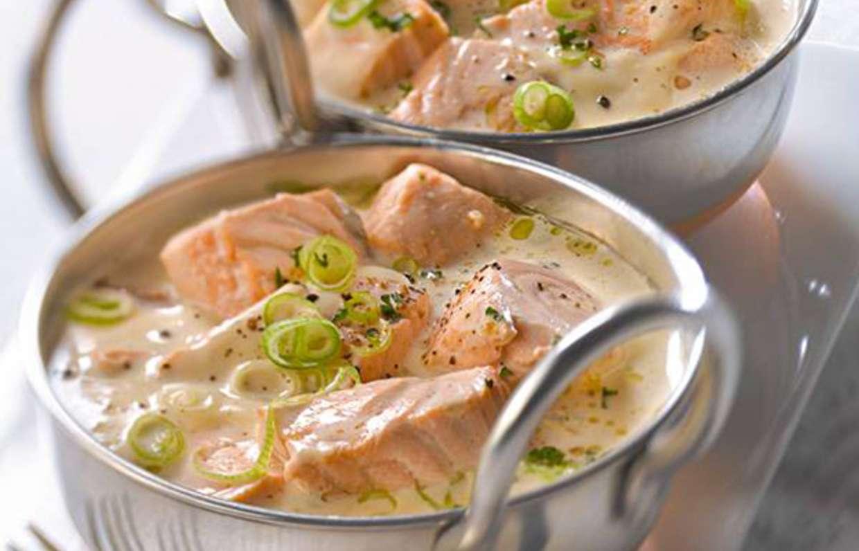 Семга в сливочном соусе: 10 прекрасных рецептов |