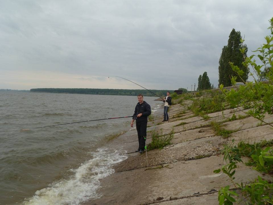 Рыбалка в тольятти