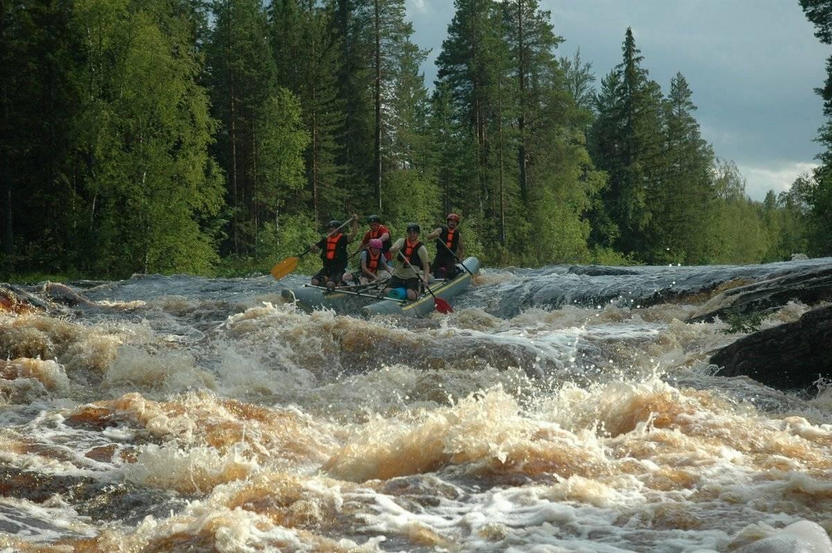 Поход на байдарках по рекам сяпся - шуя. классическая карелия.  (сямозеро - сяпся - вагатозеро - шуя на байдарках)