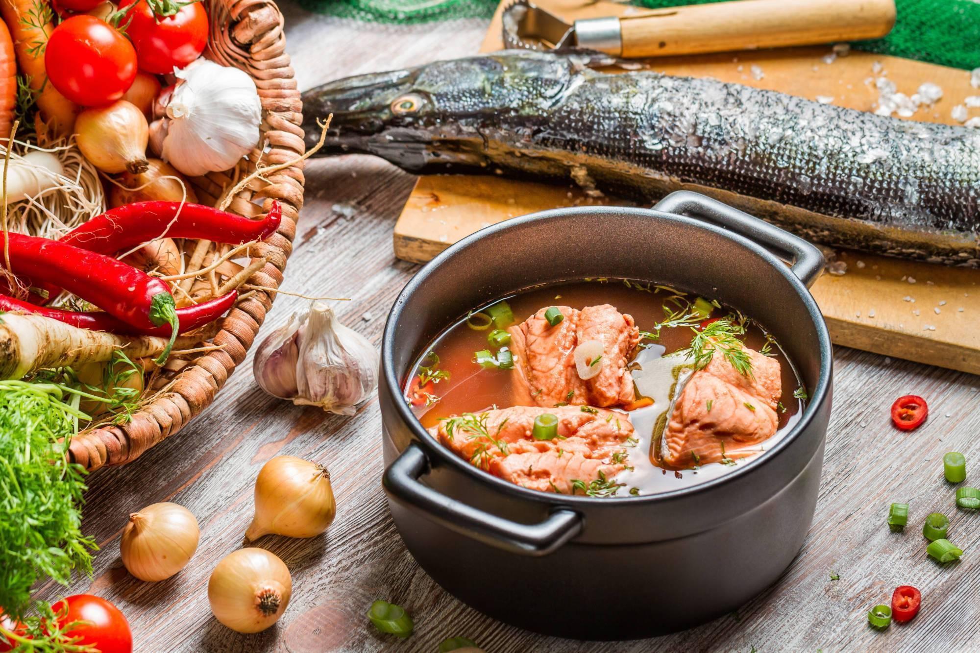 Рыбный суп – кулинарный рецепт
