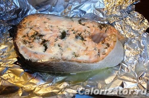Как запечь рыбу в фольге в мультиварке