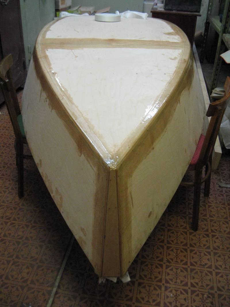 Лодка из фанеры - секрет мастера - сделай своими руками