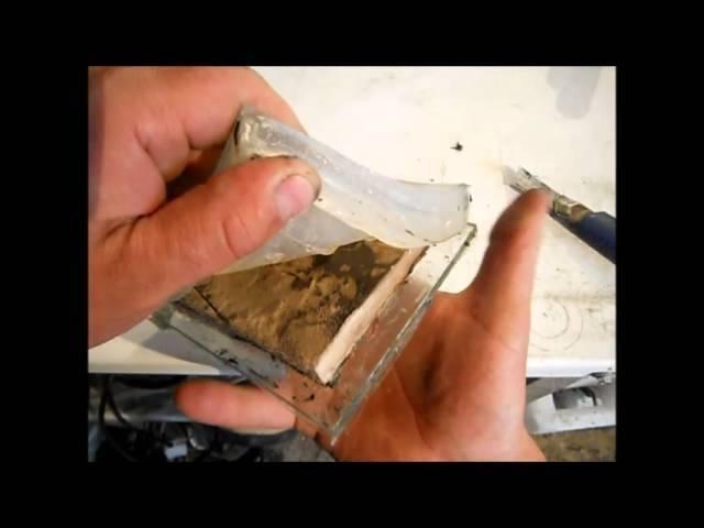 Изготовление жидкого силикона своими руками, формы из силикона