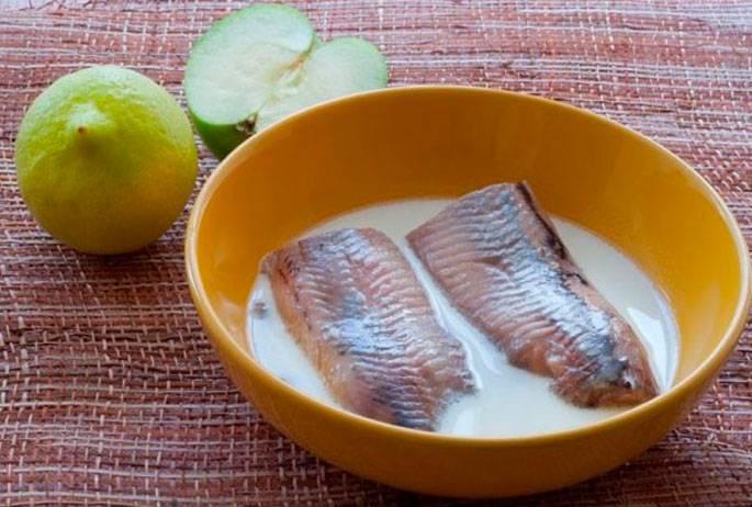 Способы вымачивания соленой рыбы