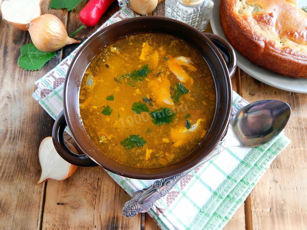 Суп из сайры - ну очень быстрый обед: рецепт с фото и видео