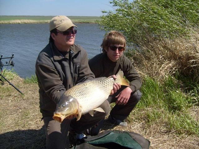 Отдых и рыбалка на озёрах самарской области