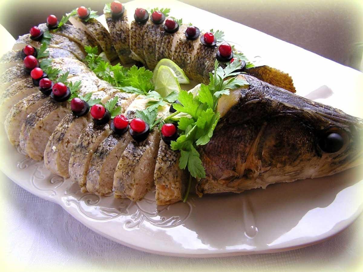 Фаршированная щука - пошаговые рецепты с фото. как приготовить фаршированную щуку целиком в духовке