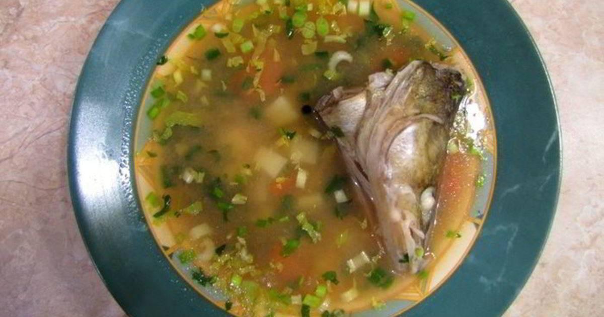 Рыбный суп из головы карпа: пошаговый рецепт