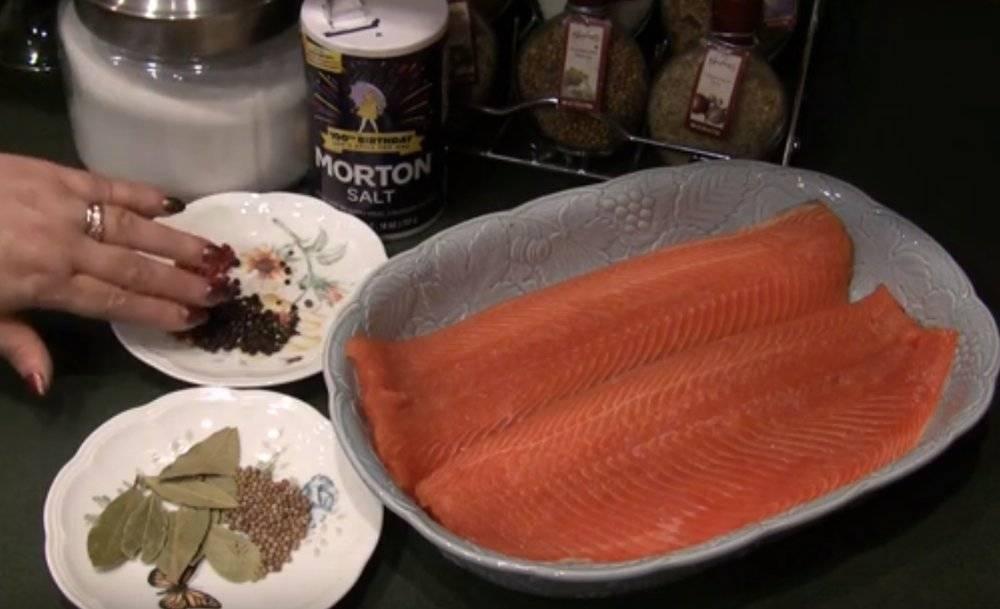 Как засолить горбушу в домашних условиях - вкусно и быстро под семгу: рецепты с фото