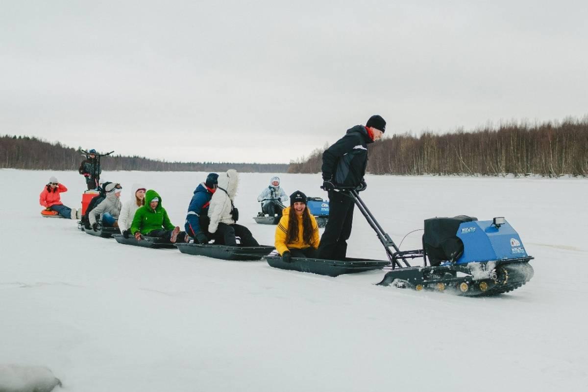 Мини-снегоходы: как выбрать маленький надежный разборный снегоход для зимней рыбалки? виды небольших снегоходов на гусеницах