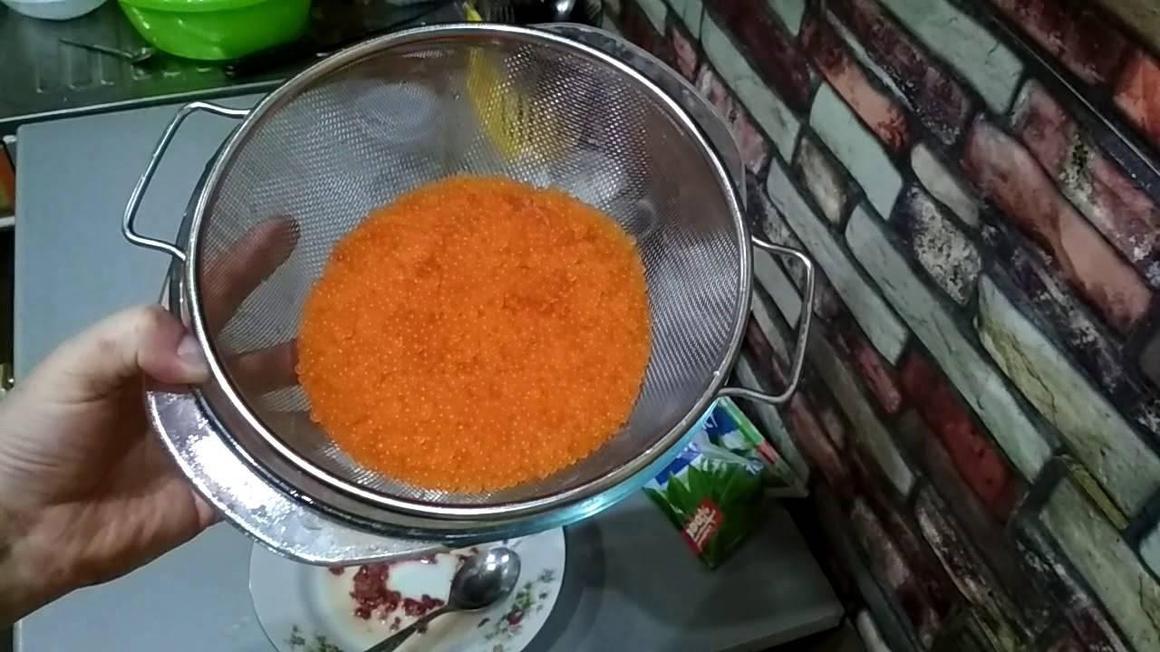 Как засолить икру форели: пошаговый рецепт ? с фото