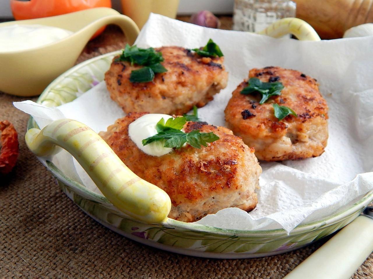 Котлеты из лосося – кулинарный рецепт